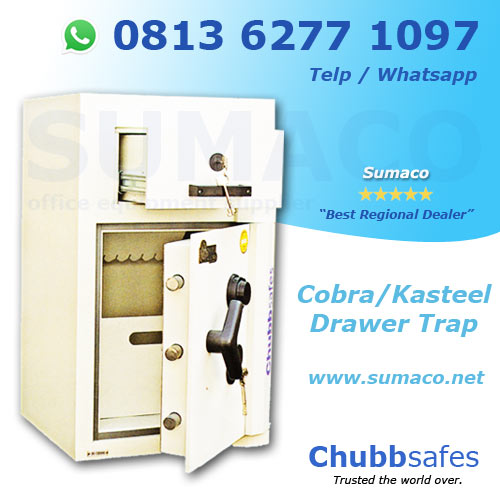 Jual Brankas Chubb Safes Cobra/Kasteel Drawer Trap
