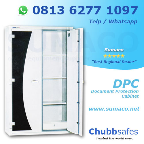 Jual Brankas Chubb Safes DPC Document Protection Cabinet