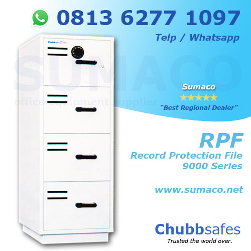 Jual Brankas Chubb Safes RPF Record Protection File